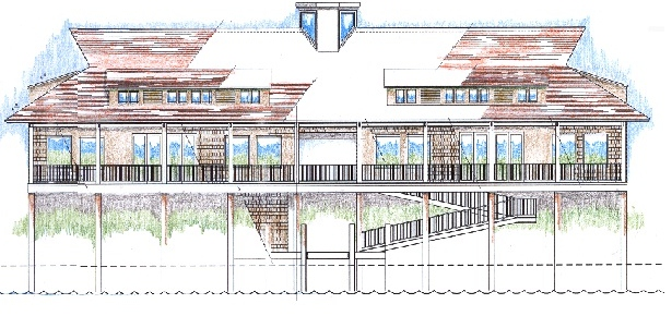 New Clubhouse Conceptual Drawing