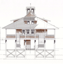 clubhouse rendering side
